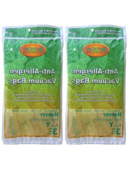 1/2 Case  Hoover HEPA Allergy Type Y Bags, WindTunnel Uprigh