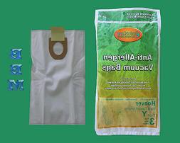 1 Case  Hoover HEPA Allergy Type Y Bags, WindTunnel Upright