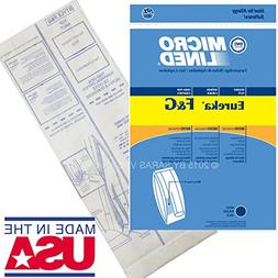 10 Allergy Bags for Eureka Style F&G Vacuum Cleaner F G Sani