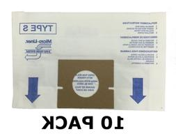10 ALLERGEN Bags for HOOVER Vacuum Windtunnel, Futura, and S