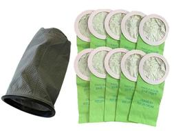 10 Proteam Backpack Vacuum Bags 100331 Replacement 10 QT + 1