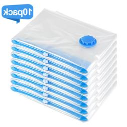 10 Pack Space Saver Vacuum Storage Bags Hoover Compression T