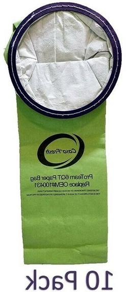 10 Proteam 6 QT BackPack Replacement Vacuum Cleaner Bags 100