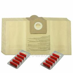 10 x Dust Bags For Parkside Lidle Vacuum Cleaner Canister Ho