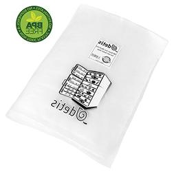 "100 of Quart Vacuum Sealer Bags for Food 8""x12"" Size, Heavy"