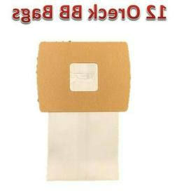 12 Oreck Buster B Vacuum Bags   Part# PKBB12DW By Envirocare