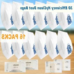 12x Genuine 3D Efficiency HyClean Dust Bags For Miele GN Vac