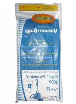 14 Royal Type R Allergy Vacuum BAG + Filter, Procision Ry, C