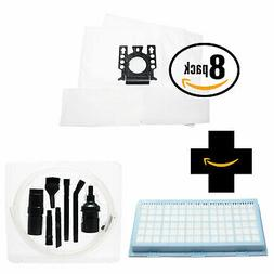 16 FJM Vacuum Bags & Micro Filters for Miele S6270 Onyx, S55