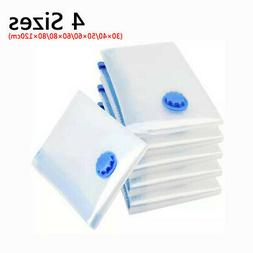 1pc Vacuum Storage Bags For Clothes Blankets Compressed Pack