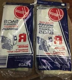 2 Bags Hoover Vacuum Cleaner Bags,No 4010063R, Hoover Inc/Tt