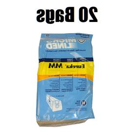20 Micro Lined Vacuum Bags for Eureka Mighty Mite 3670 3680