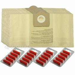 20 x Vacuum Cleaner Dust Bags For PARKSIDE LIDL Canister Hoo