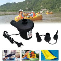 220V Dual-Use Electric Air Pump with 3-nozzle For Vacuum Sto