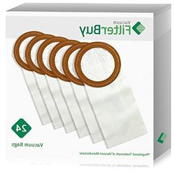 24 - FilterBuy Replacement Proteam Vacuum Bags. Designed by