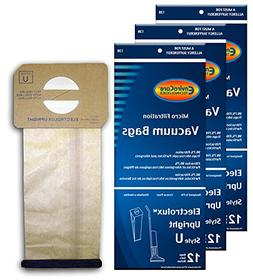 24 Generic Electrolux Upright Style U Allergy Vacuum bags Ae