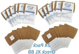 24 Pack Oreck XL Buster B  Canister Vacuum Bags PKBB12DW Hou