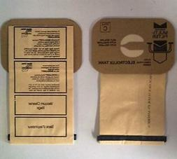 25 ELECTROLUX CANISTER C VACUUM SWEEPER BAGS