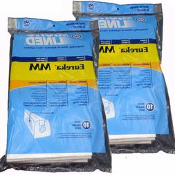 3 Eureka Type MM Mighty Mite Canister Vacuum Bags, Made In T