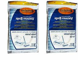 3 Eureka EX Allergy canister Vacuum Bags Excalibur, Home Cle