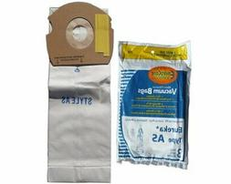 3 Eureka Upright AirSpeed  Vacuum Cleaner Allergy Bags, 6815