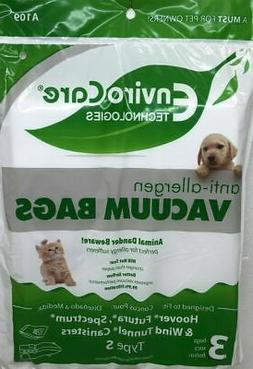 EnviroCare Replacement Allergen Vacuum Bags for Hoover WindT