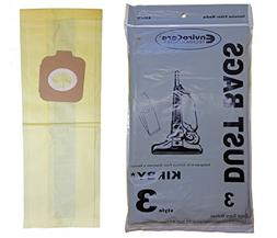 3 Kirby Style 3 197289 Vacuum Bags Generation 3, G3, Heritag