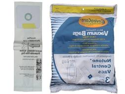 3 Nutone Central Vac Microfiltration Vacuum Cleaner Bags
