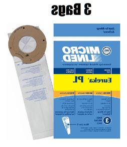 Type PL Upright Vacuum Cleaner Bags for Eureka 62389 Lights