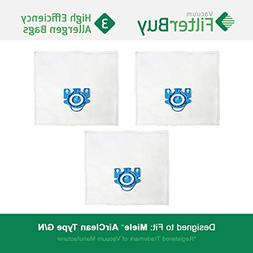 3 - FilterBuy Miele GN Replacement Vacuum Bags. Miele Parts