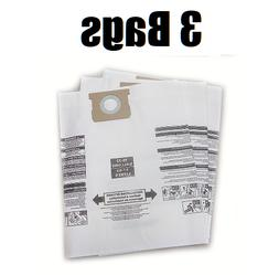 Vacuum Cleaner Bags for Shop Vac Type J 906-73-00 16-22 Gal