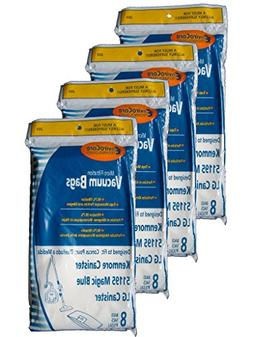 32 Kenmore Type M Sears 51195 Magic Blue LG Vacuum Bags, Ult