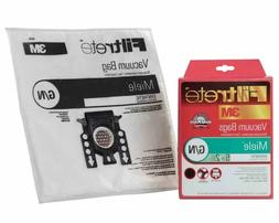 3M Filtrete 68705 Miele G/N Vacuum Bags and Filters