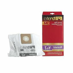 3M Filtrete Hoover Type Y and Type Z Vacuum Bag, 2 Pack