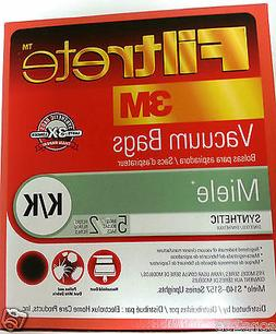 5 bags + 2 filters Type K/K Vacuum Bags for MIELE S140-S157