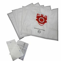 5 Bags for Miele FJM Synthetic Vacuum Cleaner Bag + 2 Filter