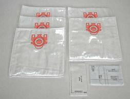 5 Miele GN Vacuum Cleaner Bags + 2 Filters Synthetic Allerge
