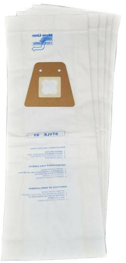 5 Style ST Vacuum Cleaner Bags for Sanitaire Eureka 63213A H