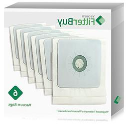 6 - FilterBuy Nutone 391 Central Compatible Vacuum Bags Repl