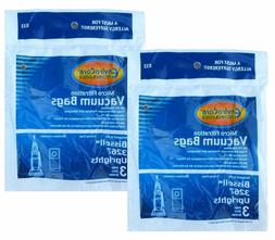 6 Bissell 833, 32671 3267, 3863 Upright Vacuum Bags Micro Al