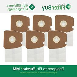 6 Eureka Type MM Mighty Mite & Sanitaire High Efficiency All