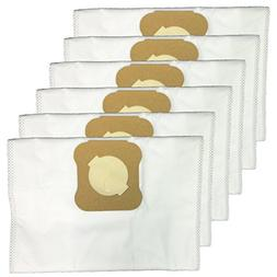 Green Label 6 Pack for Kirby Universal Hepa Cloth Bags for A