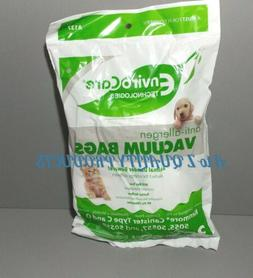 6 Kenmore Canister Cloth Vacuum Bags 5055 50557 50558 type C