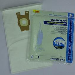 6 Kirby F & Turn on Style Allergen Vacuum Bags Fits Avalir S