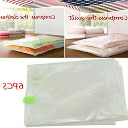 6 Pack Cube Vacuum Compressed Bags Space to pack clothing be