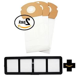 6 Replacement AS Vacuum Bags 68155 & EF-6 Filter 69963 for E