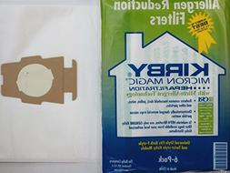 6 Universal & F Style White Cloth Kirby Micron Vacuum bags +