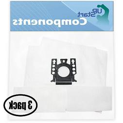 6 Vacuum Bags with 6 Micro Filters for Miele Flamenco II S25