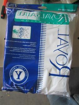 7 New Royal Aire 43655127 Type Y Vacuum Bags E-11