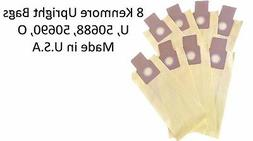 8 UltraCare Kenmore Style U Upright Vacuum Bags, 50105